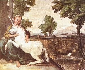 Domenichino, The Virgin with the Unicorn