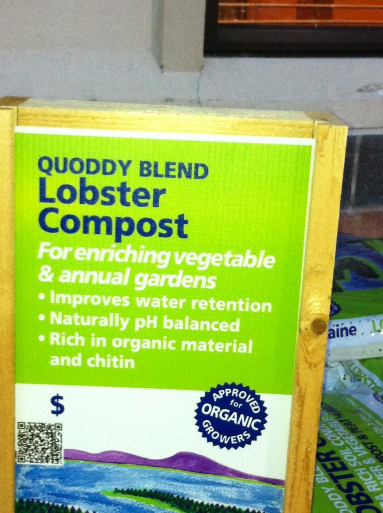 lobster compost