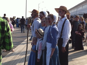 The Amish aren't immune, either, poor things.