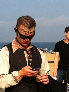 Even zombies are on Twitter. I am *so* behind!