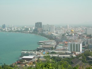 Pattaya from the hill