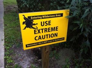 gator sign